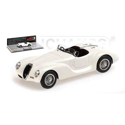 Alfa Romeo 6C 2500 SS Corsa Spider 1939 weiß - Modellauto 1:43