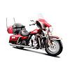 Modelmotor Harley-Davidson FLHTK Electra Glide Ultra Ltd 2013 rood 1:12   Maisto