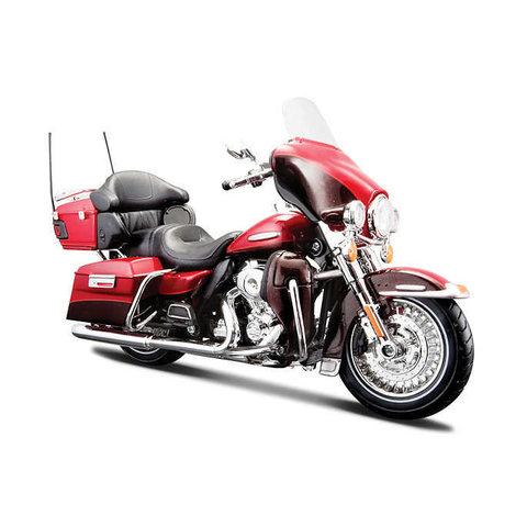 Model motorcycle Harley-Davidson FLHTK Electra Glide Ultra Ltd 2013 red 1:12