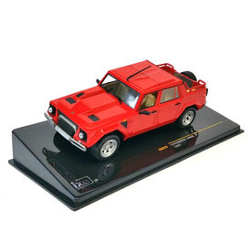 Ixo Models Lamborghini LM002 1986 rood - Modelauto 1:43