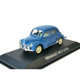 Atlas Model car Renault 4CV Luxe blue 1:43