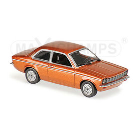 Maxichamps | Model car Opel Kadett C 1974 brown metallic 1:43