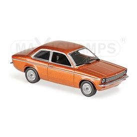 Maxichamps Opel Kadett C 1974 brown metallic - Model car 1:43