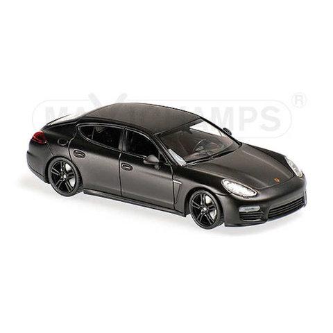 Porsche Panamera Turbo S 2013 matt black - Model car 1:43