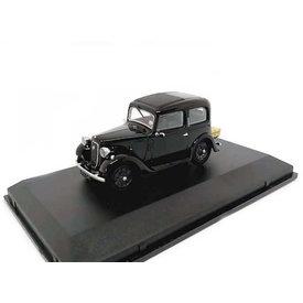 Oxford Diecast Austin Ruby schwarz - Modellauto 1:43