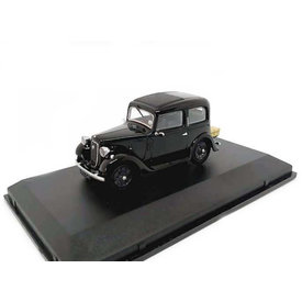 Oxford Diecast Modelauto Austin Ruby zwart 1:43