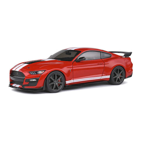 Ford Mustang Shelby GT500 2020 racing rood - Modelauto 1:18
