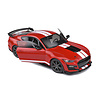 Model car Ford Mustang Shelby GT500 2020 racing red  1:18