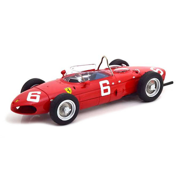 Modelauto Ferrari 156 Sharknose No. 6 F1 GP Belgium 1961 rood 1:18 | CMR
