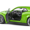 Model car Dodge Challenger Scat Pack Widebody 2020 green 1:18