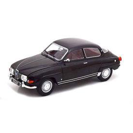 WhiteBox   Modelauto Saab 96 V4 1970 zwart 1:24