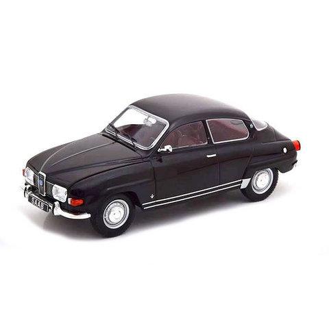 Saab 96 V4 1970 zwart - Modelauto 1:24