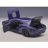 Modelauto Dodge Challenger 392 HEMI Scat Pack Shaker 2018 paars 1:18 | AUTOart