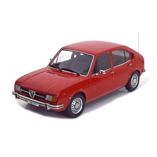 Modelauto Alfa Romeo Alfasud 1974 rood 1:18   KK-Scale