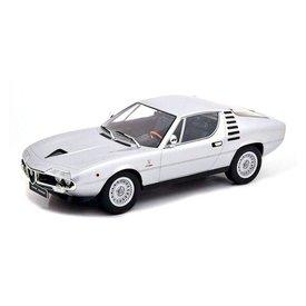 KK-Scale Alfa Romeo Montreal 1970 silver - Model car 1:18