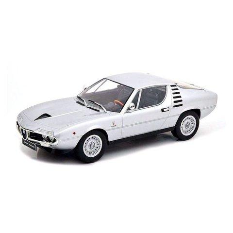 Alfa Romeo Montreal 1970 zilver - Modelauto 1:18