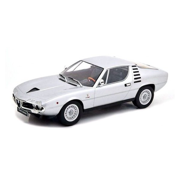 Model car Alfa Romeo Montreal 1970 silver 1:18   KK-Scale