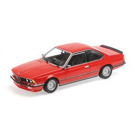 Minichamps BMW 635 CSi E24 1982 rood - Modelauto 1:18
