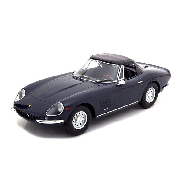 Model car Ferrari 275 GTB/4 NART Spyder 1967 dark blue 1:18   KK-Scale