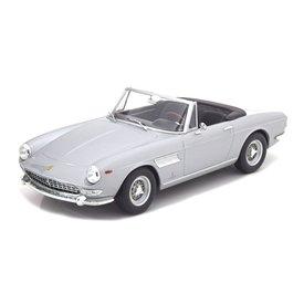 KK-Scale Ferrari 275 GTS Pininfarina Spyder 1964 silver - Model car 1:18