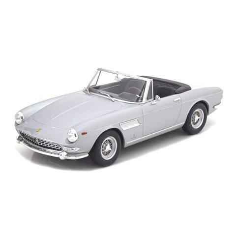 Ferrari 275 GTS Pininfarina Spyder 1964 zilver - Modelauto 1:18