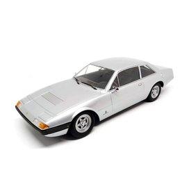 KK-Scale Ferrari 365 GT4 2+2 1972 silver - Model car 1:18