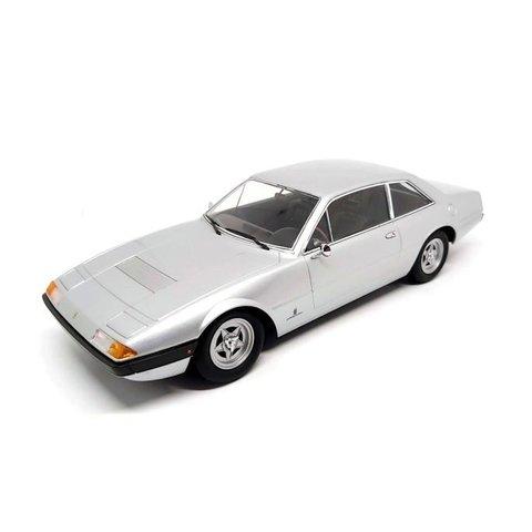 Ferrari 365 GT4 2+2 1972 zilver - Modelauto 1:18