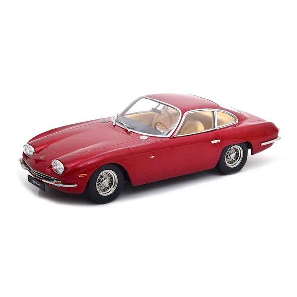 Model car Lamborghini 400 GT 2+2 1965 red metallic 1:18