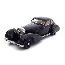 KK-Scale Mercedes Benz 540K Autobahnkurier 1938 zwart - Modelauto 1:18
