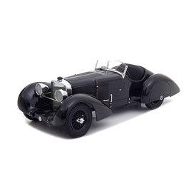 KK-Scale | Model car Mercedes Benz SSK Count Trossi Der schwarze Prinz 1930 1:18
