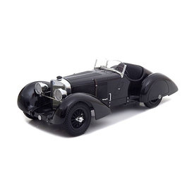 KK-Scale Modelauto Mercedes Benz SSK Count Trossi zwart 1930 1:18