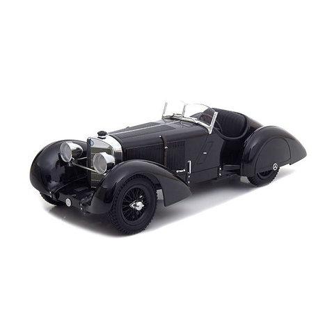 Modelauto Mercedes Benz SSK Count Trossi Der schwarze Prinz 1930 1:18
