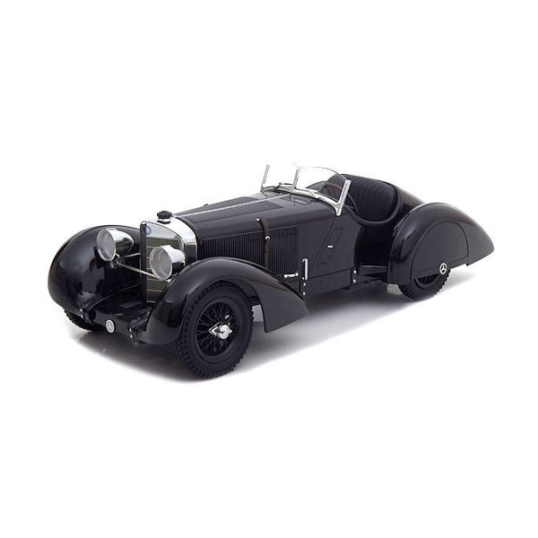 Modelauto Mercedes Benz SSK Count Trossi Der schwarze Prinz 1930 1:18 | KK-Scale