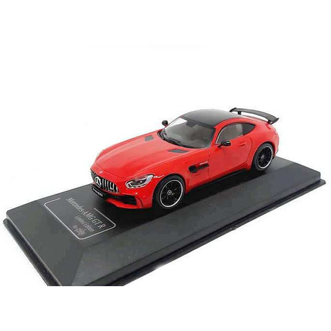 Modelauto Mercedes Benz AMG GT-R  rood 1:43