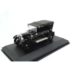 Oxford Diecast Austin Heavy Twelve Wiltshire Police black - Modelauto 1:43