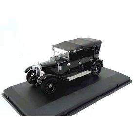 Oxford Diecast Austin Heavy Twelve Wiltshire Police zwart - Modelauto 1:43