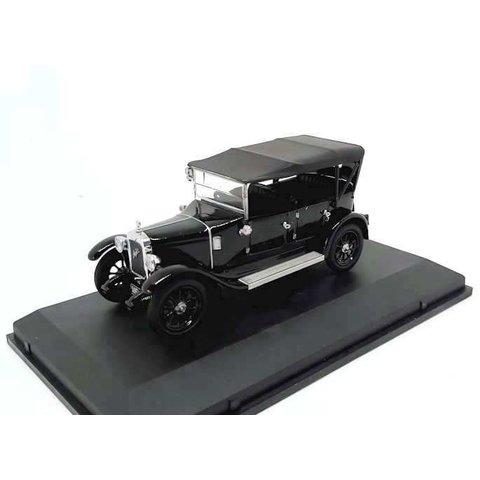 Austin Heavy Twelve Wiltshire Police zwart - Modelauto 1:43