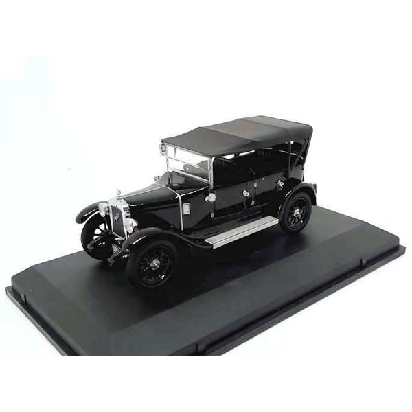 Modelauto Austin Heavy Twelve Wiltshire Police zwart 1:43 | Oxford Diecast