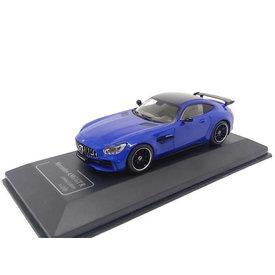 CMR Model car Mercedes Benz AMG GT-R blue 1:43
