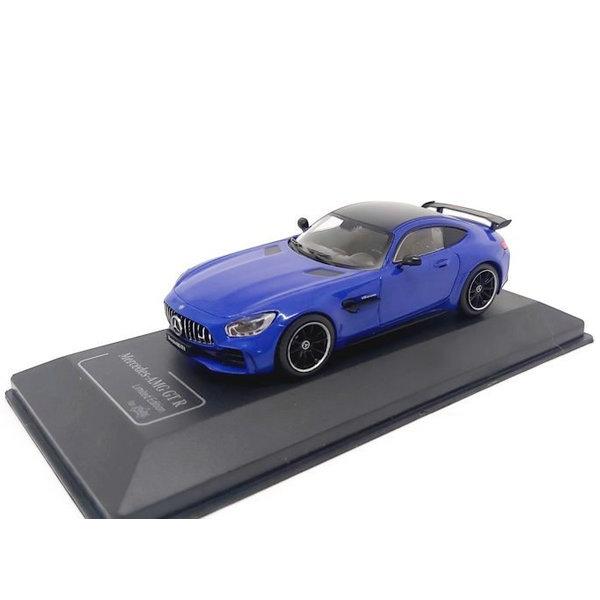 Modelauto Mercedes Benz AMG GT R blauw 1:43   CMR
