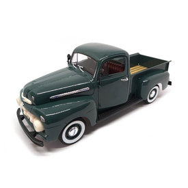 Welly Ford F-1 Pick Up 1951 groen - Modelauto 1:18
