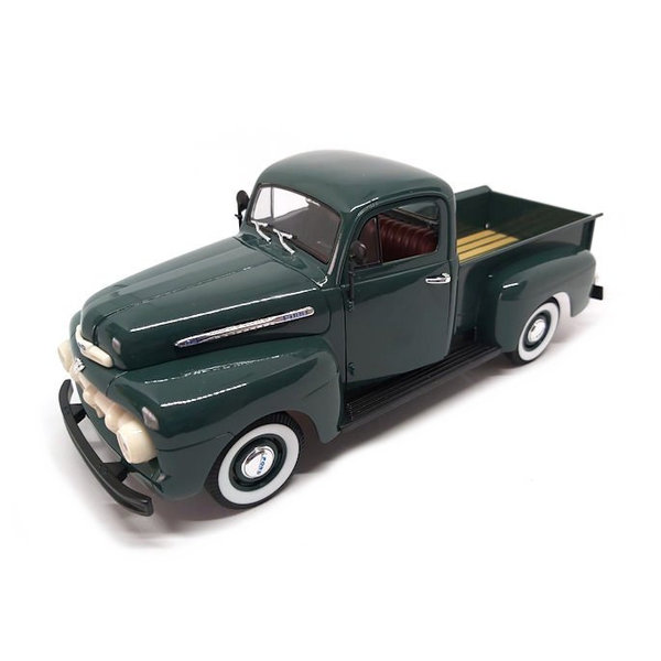 Modelauto Ford F-1 Pick Up 1951 groen 1:18 | Welly