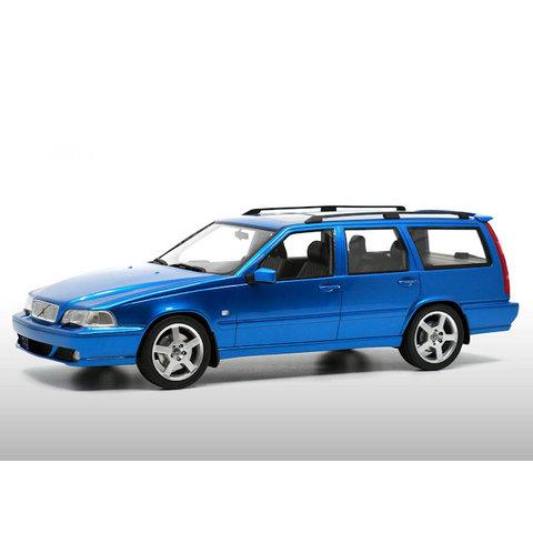 Modelauto Volvo V70 R 1999 (Gen. 1) Laser blauw 1:18