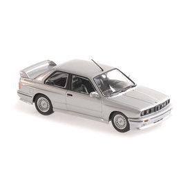 Maxichamps BMW M3 (E30) 1987 silver metallic - Model car 1:43