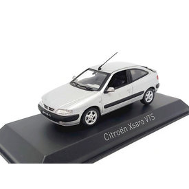 Norev Citroën Xsara VTS 1997 aluminium silver 1:43 - Model car 1:43