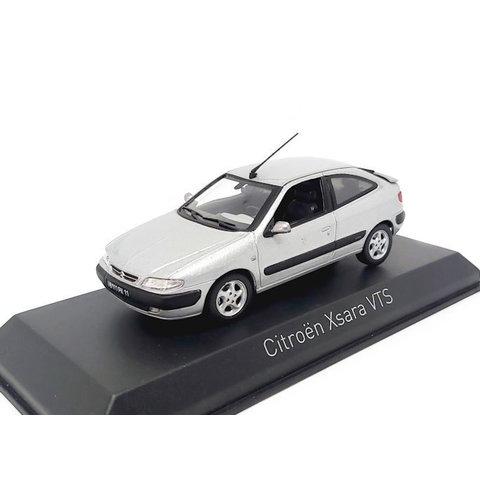 Citroën Xsara VTS 1997 aluminium silver 1:43 - Model car 1:43