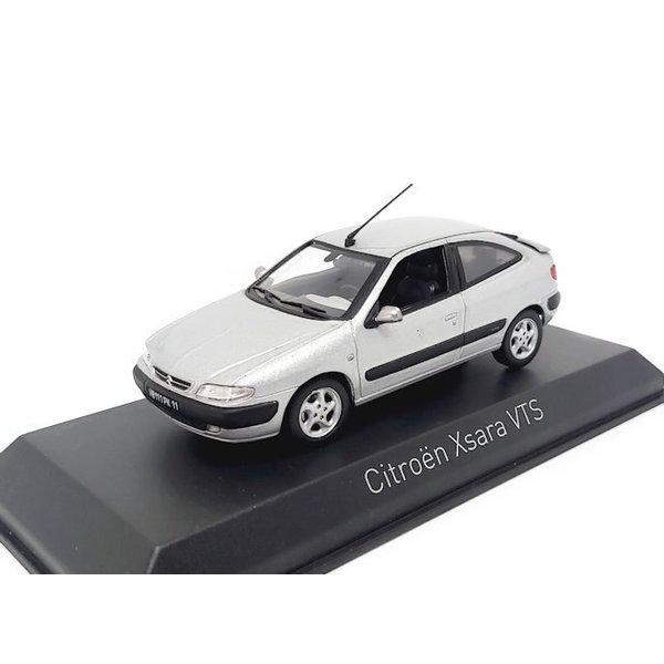 Model car Citroën Xsara VTS 1997 aluminium silver 1:43   Norev