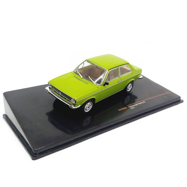 Model car Volkswagen Derby LS 1977 green 1:43   Ixo Models