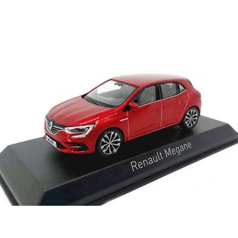 Modelauto Renault Megane 2020 rood metallic 1:43