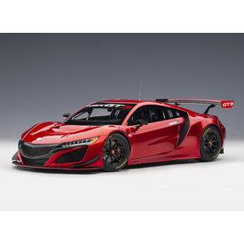 AUTOart | Model car Honda NSX GT3 2018 Hyper red 1:18